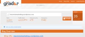 Grader - blog